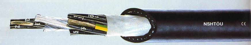 Всепогодный резиновый сварочный кабель h07rn-f