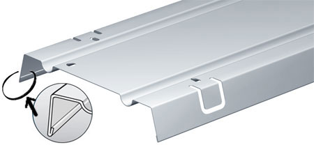 CP300/316L Крышка для лотка 300 мм