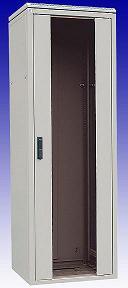 Шкаф напольный 15U, 763x600х600мм (ВхШхГ), стеклянная дверь в стальной раме, ручка с замком