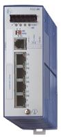 4 порта 10/100BASE-TX с RJ45 (TP - 100м) Защ.IP 20; Упр.SNMP и Web-based; DIN-rail; HIPER-Ring; рабочая температура от -40°С до
