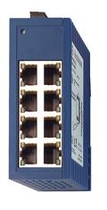 8 портов 10/100BASE-TX с RJ45 (TP - 100м); Защ.IP 30; DIN-rail; SPIDER 8TX