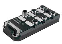 Industrial Ethernet IP67 неуправляемый коммутатор для витой пары, 5 портов 10/100BASE-TX, с M12 (4-pin, D-coded) OCTOPUS 5TX