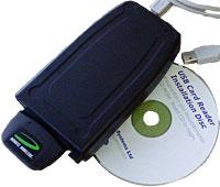 USB to PC Card Read-Writer 1 Slot 32bit 3G/CDMA U132