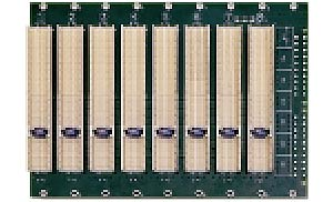 3U 32bit 8-slot CompactPCI Backplane without rear I/O